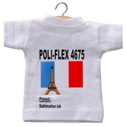 4675 Biela sublimačná tlačová nažehľovací fólia / Poli-flex