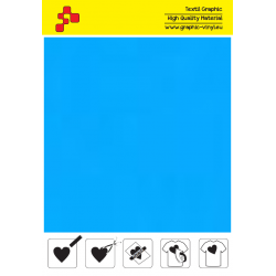 IDP403A Svetlo modrá (Arch) nažehľovací fólia / iDigit