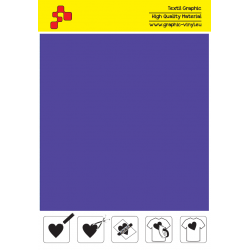 IDP414A Purpurová (Arch) nažehľovací fólia / iDigit