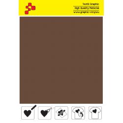IDP416A Hnedá (Arch) nažehľovací fólia / iDigit