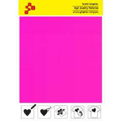 IDP443A Neónovo ružová (Arch) nažehľovací fólia / iDigit