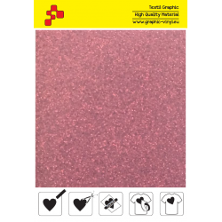 IDP456A Perleťová červená (Arch) nažehľovací fólia / iDigit