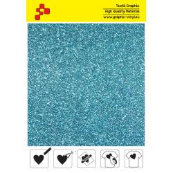 IDP445A Perleťová nebesky modrá (Arch) nažehľovací fólia / iDigit