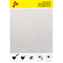 IDP444A Perleťová biela (Arch) nažehľovací fólia / iDigit