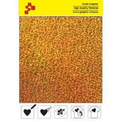 IDL792A Zlatá Glam (Arch) nažehľovací fólia / iDigit