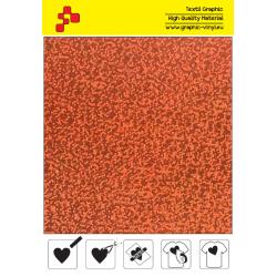IDL734A Oranžová Glam (Arch) nažehľovací fólia / iDigit