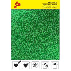 IDL750A Zelená Glam (Arch) nažehľovací fólia / iDigit