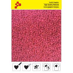 IDL736A Ružová Glam (Arch) nažehľovací fólia / iDigit