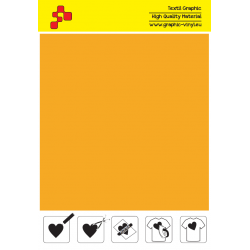 IDSF722A Tekvicove žltá (Arch) Speed flex nažehľovací fólia / iDigit