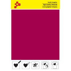 IDSF739A Zamatovo červená (Arch) Speed flex nažehľovací fólia / iDigit