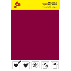 IDSF762A Bordeaux (Arch) Speed flex nažehľovací fólia / iDigit