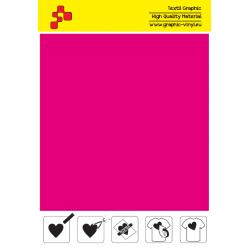IDSFFLUO40A Neónovo ružová (Arch) Speed flex nažehľovací fólia / iDigit