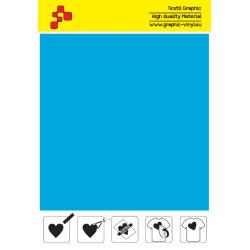 IDSFFLUO46A Neónovo modrá (Arch) Speed flex nažehľovací fólia / iDigit