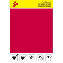 IDT730A Červená Fatty (Arch) nažehľovací fólia / iDigit
