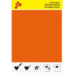IDT734A Oranžová Fatty (Arch) nažehľovací fólia / iDigit