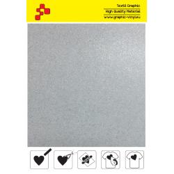 IDG700A Biela Glitter (Arch) nažehľovací fólia / iDigit