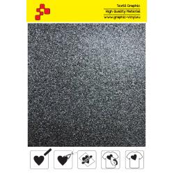 IDG710A Čierna Glitter (Arch) nažehľovací fólia / iDigit