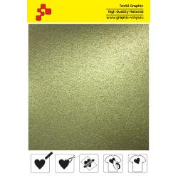 IDG792A Zlatá Glitter (Arch) nažehľovací fólia / iDigit