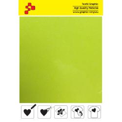 IDG728A Neónovo žltá Glitter (Arch) nažehľovací fólia / iDigit