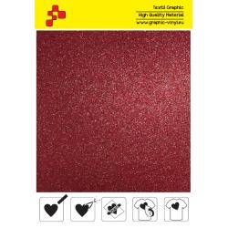 IDG730A Červená Glitter (Arch) nažehľovací fólia / iDigit