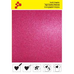IDG736A Ružová Glitter (Arch) nažehľovací fólia / iDigit