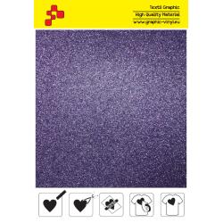 IDG770A Purpurová Glitter (Arch) nažehľovací fólia / iDigit