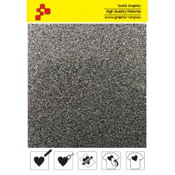 IDP435A Glitterová strieborná (Arch) nažehľovací fólia / iDigit