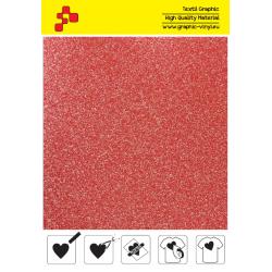 IDP438A Glitterová červená (Arch) nažehľovací fólia / iDigit
