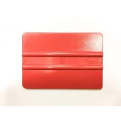 Tvrdá plastová špachtľa červená / iDigit