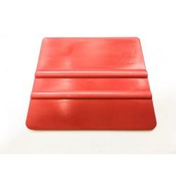 Tvrdá plastová lichobežníková špachtľa červená / iDigit