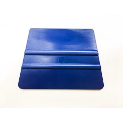Mäkká plastová lichobežníková špachtľa modrá / iDigit