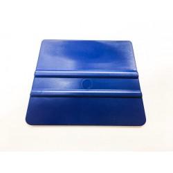 Mäkká plastová lichobežníková špachtle modrá / iDigit