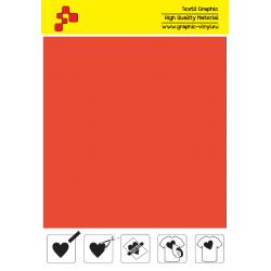 IDSF733A Mrkvovo oranžová (Arch) Speed flex nažehľovací fólia / iDigit