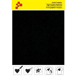 IDVCE06A Čierna (Arch) semišová nažehlovací fólie / iDigit