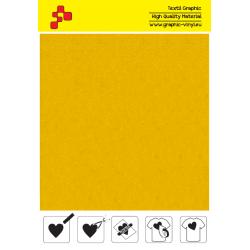 IDVCE02A Citrónová semišová nažehlovací fólie / iDigit