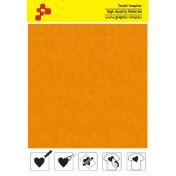 IDVCE03A Slnečne žltá (Arch) semišová nažehlovací fólie / iDigit