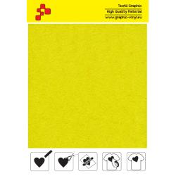 IDVCPNYA Neónová žltá (Arch) semišová nažehlovací fólie / iDigit