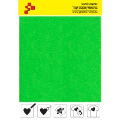IDVCPNGA Neónová zelená (Arch) semišová nažehlovací fólie / iDigit