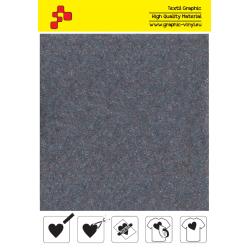 IDVCE11A Chladne šedá (Arch) semišová nažehlovací fólie / iDigit