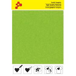 IDVCE23A Limetkovo zelená (Arch) semišová nažehlovací fólie / iDigit