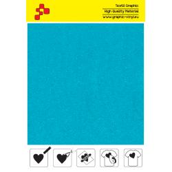 IDVCE20A Tyrkysová (Arch) semišová nažehlovací fólie / iDigit