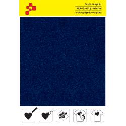 IDVCE09A Kráľovsky modrá (Arch) semišová nažehlovací fólie / iDigit