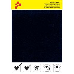 IDVCE07A Námornícka modrá (Arch) semišová nažehlovací fólie / iDigit