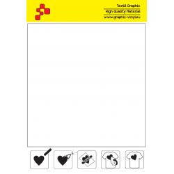 ID T700A Biela Fatty (Arch) nažehľovací fólia / iDigit