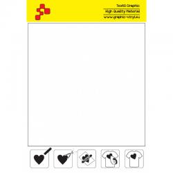 IDSF700A Biela (Arch) Speed flex nažehľovací fólia / iDigit