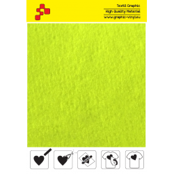 IDRCNY4A Reflexcut Neónovo žltá 4 reflexná nažehľovací fólia / iDigit