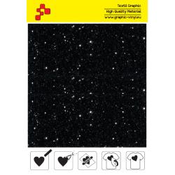 IDD710A Perleťová čierna (Arch) nažehľovací fólia / iDigit