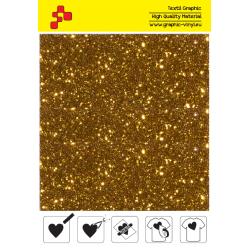 IDD722A Perleťová tekvicová žltá (Arch) nažehľovací fólia / iDigit