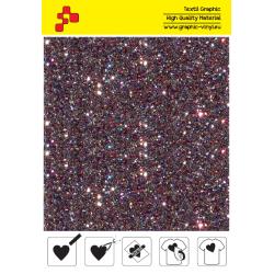 IDD737A Perleťová ruměncově růžová (Arch) nažehľovací fólia / iDigit