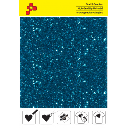 IDD744A Perleťová světle modrá (Arch) nažehľovací fólia / iDigit